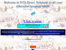 Tablet Preview of dtsdirect.co.uk